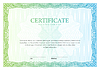 Zertifikat. Template Diplome, Währung