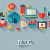 Векторный клипарт: Средства массовой информации и коммуникации фона с