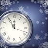 Weihnachten antike Uhren