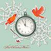 Scrapbook-Element Hintergrund Weihnachten