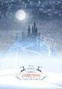 Weihnachten Winter Castle Moonlight Sky