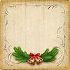 Векторный клипарт: Урожай рождественская открытка