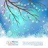Векторный клипарт: Рождественские лампочки фона