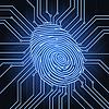 Векторный клипарт: отпечатков пальцев электроника