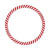 Векторный клипарт: Candy Cane Круг