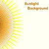 Kolorowe światło słoneczne tło, promienie słońca pentagon | Stock Vector Graphics