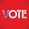 Векторный клипарт: Голосов в США