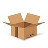 Векторный клипарт: картонные коробки