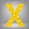 Векторный клипарт: пиво письмо X