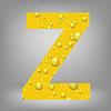 Векторный клипарт: пиво письмо Z