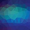 Векторный клипарт: синий клетчатый фон