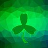 Векторный клипарт: зеленый клевер