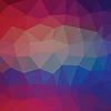 Векторный клипарт: Абстрактные фона многоугольной