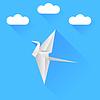Векторный клипарт: Бумажные птицы
