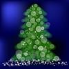 Векторный клипарт: Зеленые сосны