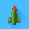 Векторный клипарт: Одноместный бомба
