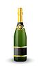 Векторный клипарт: Бутылка шампанского