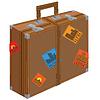 Große Koffer für die Reise