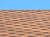 Bitumiczne dachówki podjęte | Stock Foto