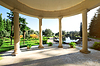 Arbour with columns | Stock Foto
