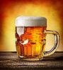 啤酒杯想通 | 免版税照片