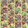 Kreative gemusterte Textur | Stock Vektrografik
