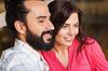 Glückliche Paar im Restaurant | Stock Photo