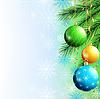 Festliche Luxus Hintergrund für Neujahr und Weihnachten