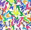 Векторный клипарт: Фон бесшовный узор с красочными