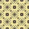 Elegante nahtlose Muster im königlichen Stil