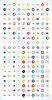 200 Pfeil-Zeichen-Icon-Set (Farbe weiß)