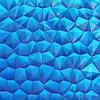 Blaue abstrakten geometrischen Hintergrund mit Sechseck, Formen Dreieck mit Kopie Platz für Ihren Text, Zeichen