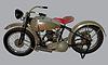 ID 4979576 | Antique motorcycle Harley-Davidson 28B | Klipart wektorowy | KLIPARTO
