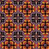 Streszczenie tle geometryczne złożone z rocznika | Stock Vector Graphics