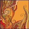 Abstrakter dekorativen Hintergrund | Stock Vektrografik