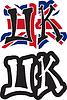 UK Wort Graffiti anderen Stil
