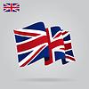 Wohnung und wehe Britische Flagge