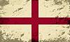 Englisch Flagge. Grunge Hintergrund