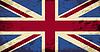 Großbritannien Flagge. Grunge Hintergrund