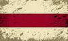 Belarussischen Flagge. Grunge Hintergrund
