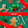Weihnachten Verkauf Plakat | Stock Vektrografik