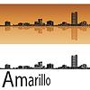 Векторный клипарт: Амарилло горизонта