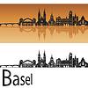 Векторный клипарт: Базель горизонта