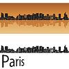 Векторный клипарт: Париж В