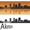 Векторный клипарт: Акрон горизонта