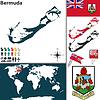 Karte von Bermuda