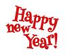 С Новым годом надписи | Иллюстрация