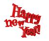 새해 복 많이 받으세요 글자 | Stock Illustration