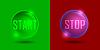 Векторный клипарт: старт-стоп