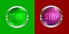Векторный клипарт: пуско-stop0